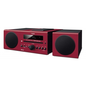 Yamaha Micro Stereo System - Red